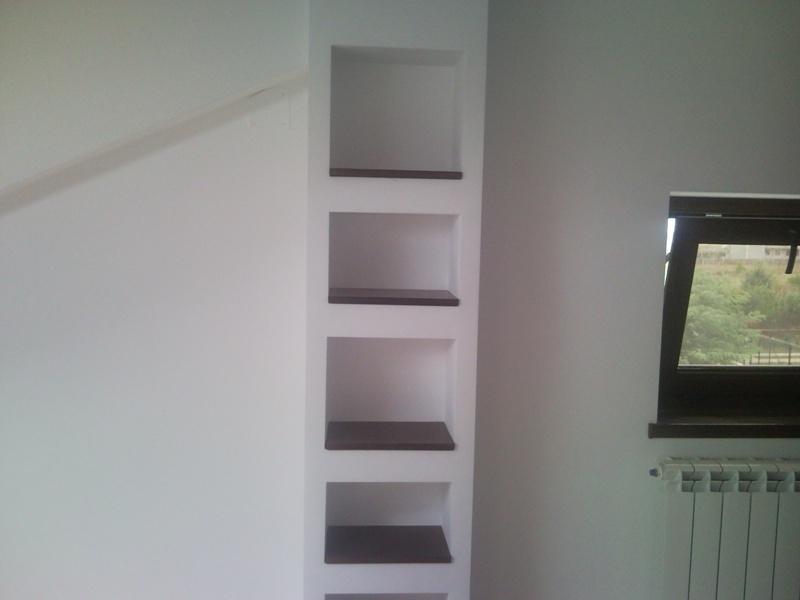 rafturi rigips rafturi din rigips in perete livng. Black Bedroom Furniture Sets. Home Design Ideas